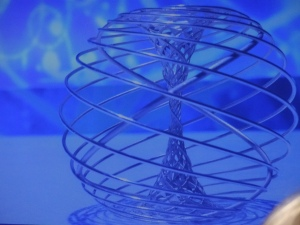 The silver Fundamental Physics Prize, designed by Olafur EliassonPhoto: PK Read