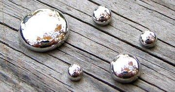 Liquid mercury Image via Cameroon Chemical Company