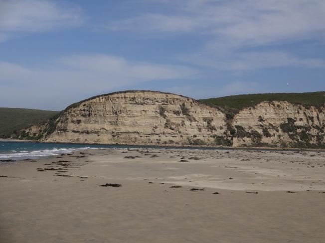 Estuary at Limantour Beach, California Photo: PK Read