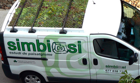 A Phyto Kinetic green van. Photo: Phyto Kinetic