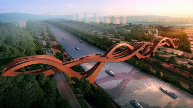 Mobius Bridge design Source: NEXT