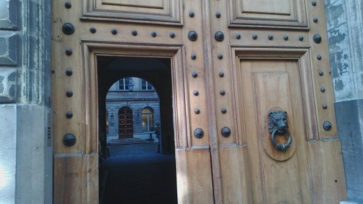Door to the Chancellery of the City and Canton of Geneva, Switzerland Photo: PK Read