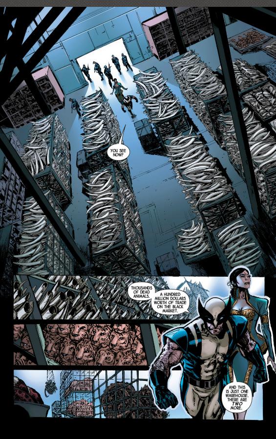 Savage Wolverine #12 Art: Jimenez/Marvel