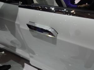 Tesla door handle.