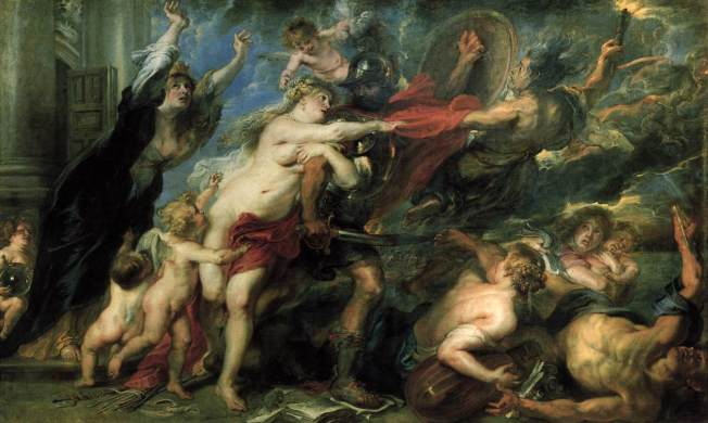 The Consequences of War (1637-38) Peter Paul Rubens