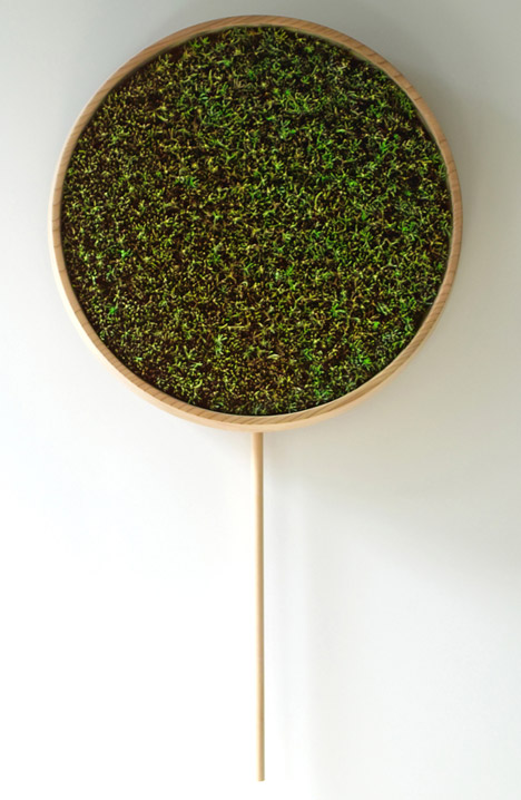 The Coniferous Clock Image: Bril/Dezeen