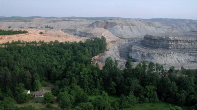 Still from Leveling Appalachia: The Legacy of Mountaintop Removal Mining, a video report produced by Yale Environment 360.