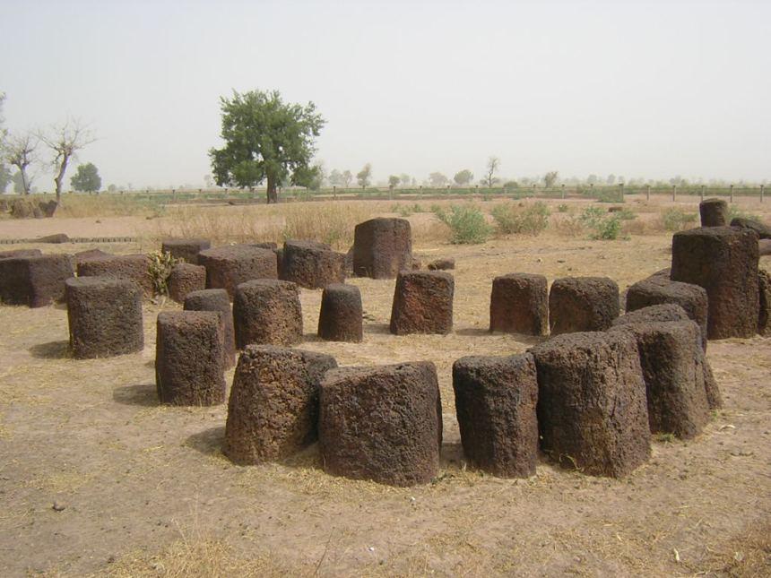 Megalithic stone circles, Siné Ngayenne, Senegal. Photo: Didier Euzet