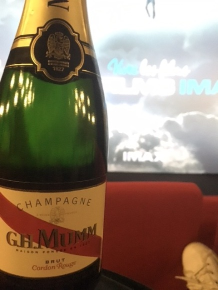 Mumm. Not my very favorite, but tasty nonetheless.